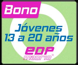 Bono Jóvenes: de 13 a 20 años