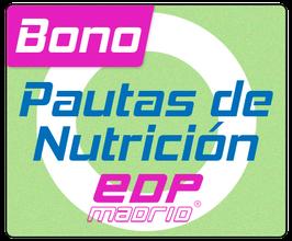 Pautas de nutrición