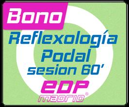 Reflexología podal, sesión de 60 minutos en EDPmadrid